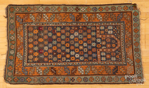 Kazak prayer rug, early 20th c.