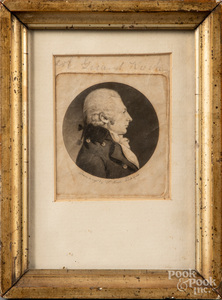 St. Memin engraved portrait