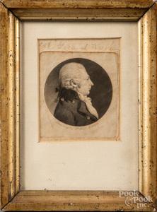 St. Memin engraved portrait