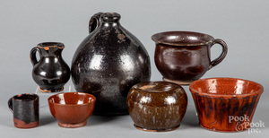 Group of redware