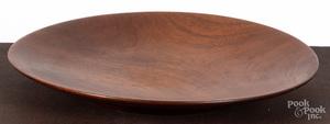 Paul Eshelman turned mahogany charger