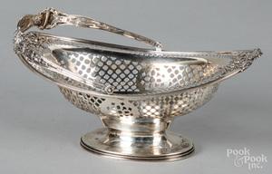 Redlich sterling silver basket