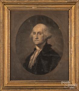 Lithograph of George Washington