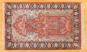 Two Kashmir carpets