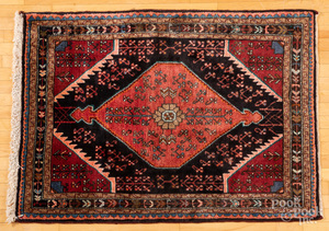 Semi antique Shiraz carpet