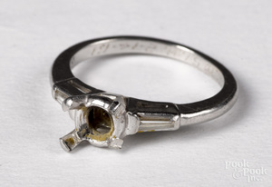 Platinum ring form