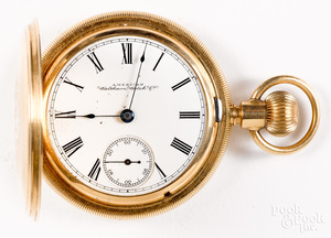 14K Waltham Watch Co. pocket watch