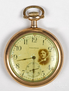 Gold filled Waltham Watch Co. pocket watch