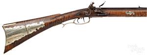 Contemporary flintlock full stock long rifle