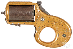 James Reid My Friend knuckle duster revolver