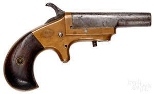 Single shot boot pistol