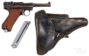 German Luger S/42 semi-automatic pistol