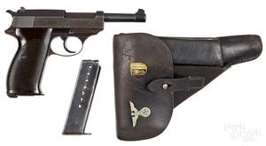 Walther P38 semi-automatic pistol