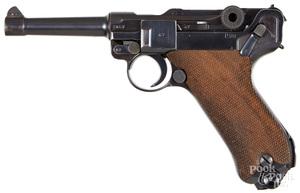 BYF-42 Mauser P08 semi-automatic pistol