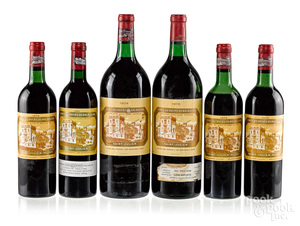 Six bottles of Chateau Ducru Beaucaillou