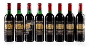 Eight bottles of Chateau Palmer