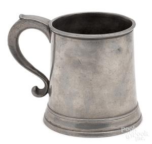 Baltimore, Maryland pewter mug
