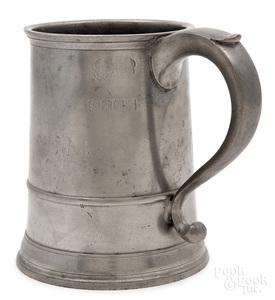 Providence, Rhode Island pewter mug