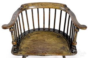 Philadelphia lowback Windsor armchair