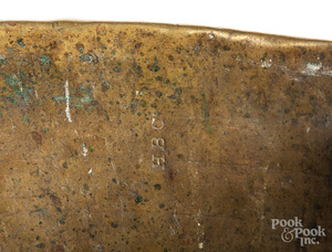 Hudson Bay Co. brass trade kettle