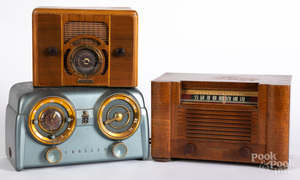 Three early radios