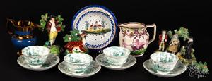 Miscellaneous group of ceramics