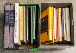 Collection of regional antique reference books
