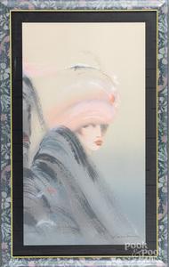 Victoria Montesinos set of three serigraphs