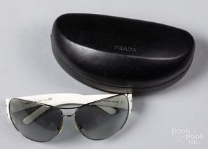 Pair of men's Prada sunglasses