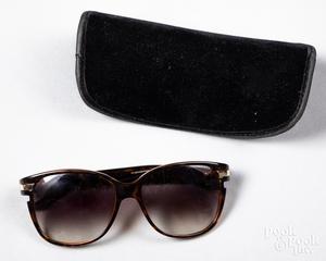 Pair of Dior sunglasses