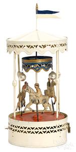 Gunthermann carousel steam toy accessory