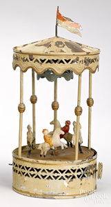 Gunthermann carousel steam toy accessory