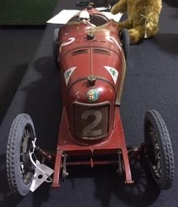 French CIJ clockwork Alfa-Romeo race car