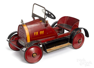 Franklin pressed steel pedal car