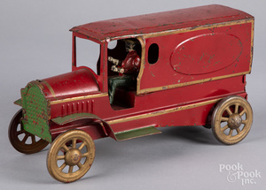 Dayton pressed steel friction delivery truck