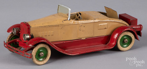Kingsbury pressed steel wind-up roadster