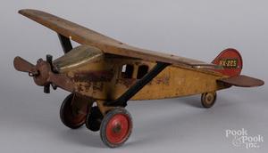 Keystone pressed steel Air Mail NX-265 airplane