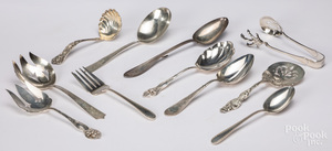 Sterling silver serving utensils