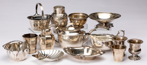 Sterling silver tablewares