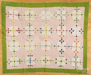 Nine patch variant quilt