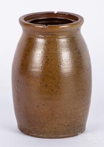 Pennsylvania stoneware canning jar