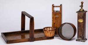 Miscellaneous woodenware