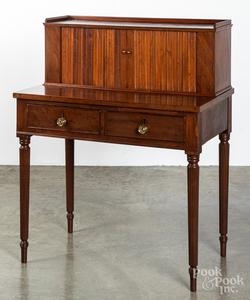 Sheraton mahogany work table