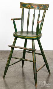 Pennsylvania painted highchair