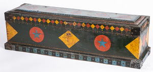 Painted tool chest