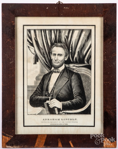 Two Abraham Lincoln lithographs