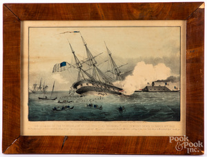 Three nautical color lithographs