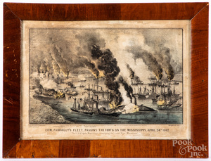 Three nautical color lithographs