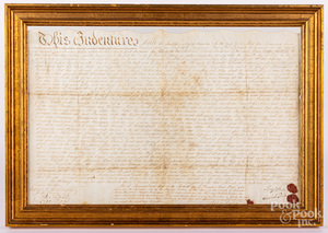 1761 Lancaster, Pennsylvania land deed