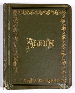 Autograph album belonging to Henry Muhlenberg